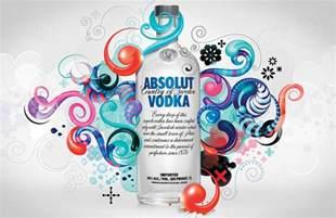 illustration design absolut vodka