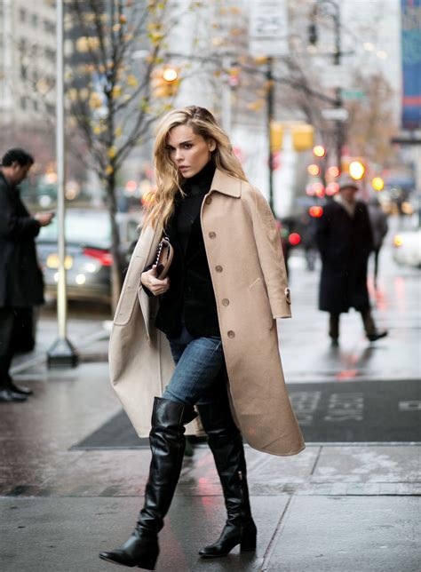 Over The Knee Boots Trend Autumn Winter Style