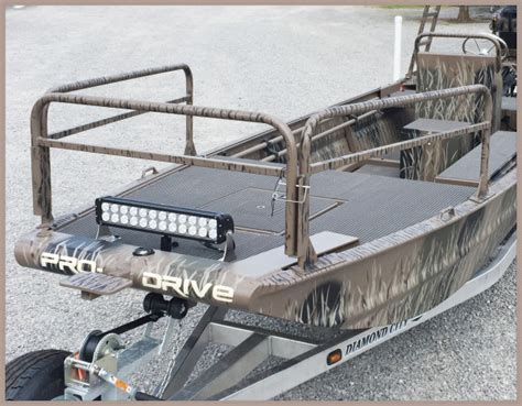 Bowfishing Boat Railing by Outboard Boat Accessories Pro Drive Outboards