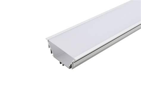 led alu t profil 80mm silber mit abdeckung kaufen pur led