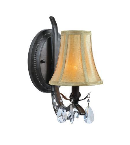 Lite Source Macy 1 Light Wall Lamp In Dark Bronze C71284w