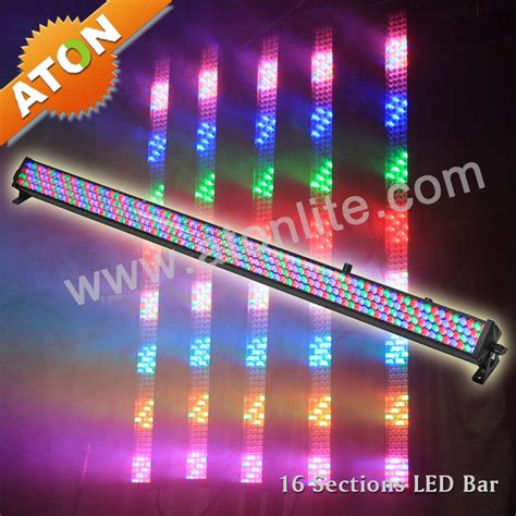 china led stage lighting 16 sctions chasing led bar ae021