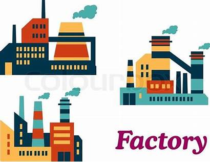 Factory Vector Flat Icon Factories Icons Industrial