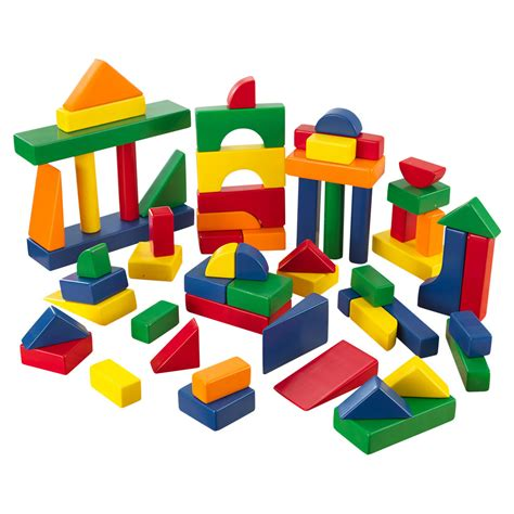 colored blocks kidkraft 174 60 wooden block set primary colors