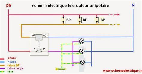 Schema Cablage Telerupteur Unipolaire Hager