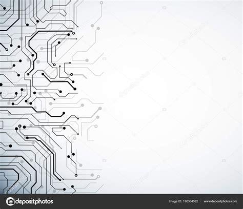 Digital Wallpaper White by White Circuit Wallpaper Stock Photo 169 Peshkov 190384592