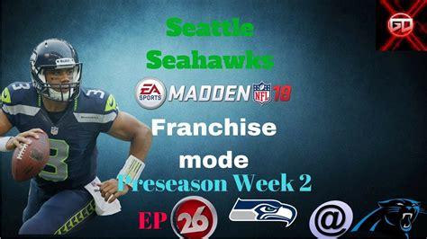 seattle seahawks madden  franchise mode pondering