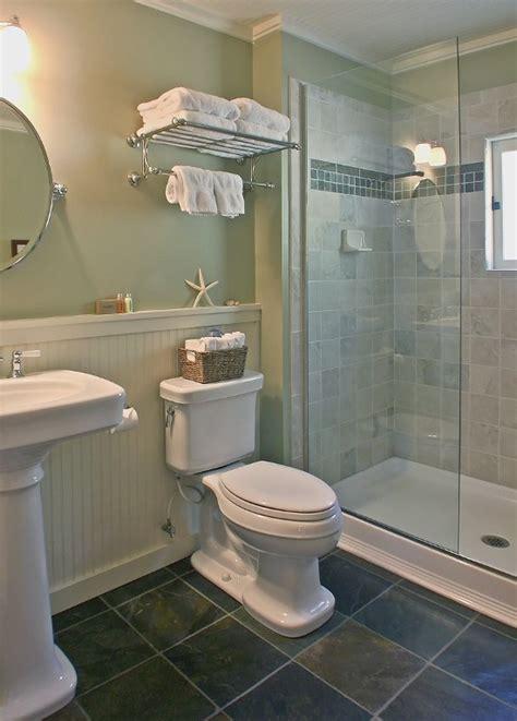 bath  vintage style fixtures   roomy walk