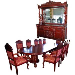 mahogany dining room set 7203 r j horner 15 pc winged griffin carved mahogany dining room set from antiquariantraders