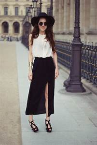 My Style // Summer Maxi Skirt Outfit - Paperblog