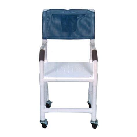 pvc shower chair 22 quot 4 quot x1 1 4 quot heavy duty casters