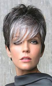 Short Curly Grey Hairstyles Fade Haircut