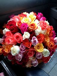 Flower Bouquet Roses Tumblr