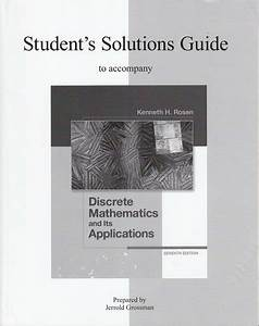 Solutions Guide For Discrete Mathematics And Its