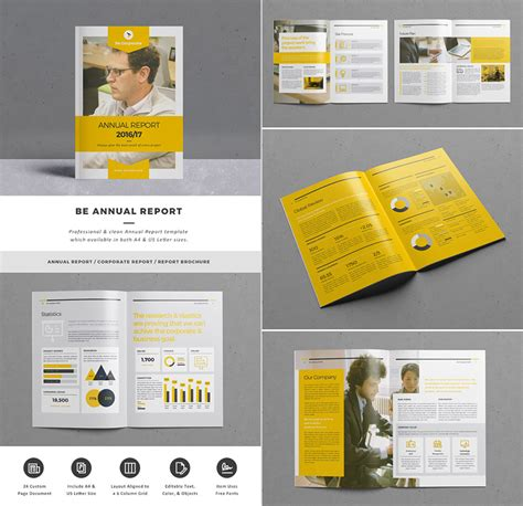 report template design 15 annual report templates with awesome indesign layouts