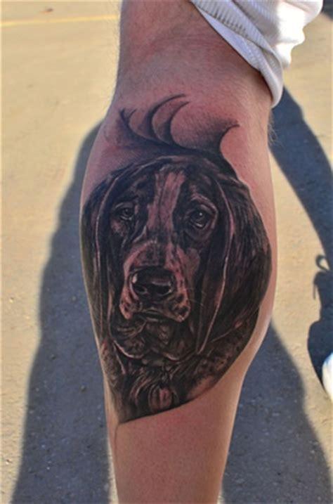 coolest basset hound tattoo designs   world