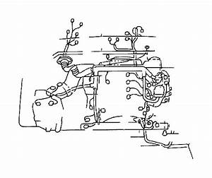 Toyota 4runner Battery Cable Harness  Wire  Engine  No 2