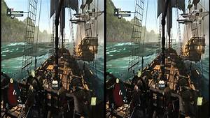 Assassin's Creed 4 Black Flag 3D SBS Gameplay Side by Side ...