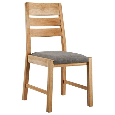oslo oak dining chair pair dining room living room