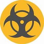 Icon Hazard Toxic Biohazard Icons Signs Danger