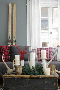 decorative accessories for living room 25+ best ideas about Plaid Decor on Pinterest | Red ...