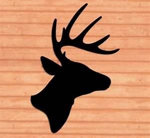 *NEW* Lawn Art Yard Shadow/Silhouette - Deer/Buck Head eBay