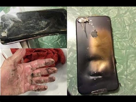 iphone explodes while charging iphone 7 explosion while charging the battery kfunclub 1558