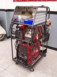 Homemade Mig Welding Cart