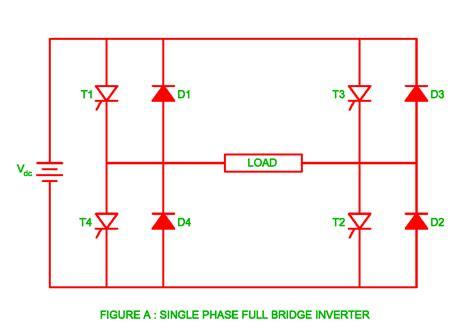 Single Phase Full Bridge Inverter Electrical Revolution
