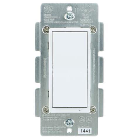 ge zigbee in wall energy monitoring smart switch 45856ge