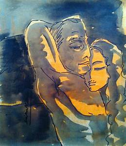 Painting Of Couples In Love at PaintingValley.com ...