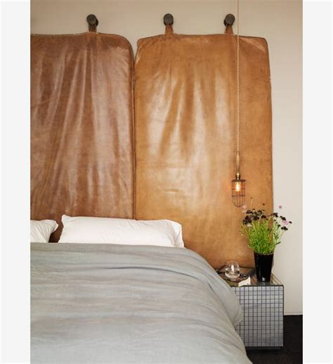 Ashe Leandro Leather Cushion Wall Hanging