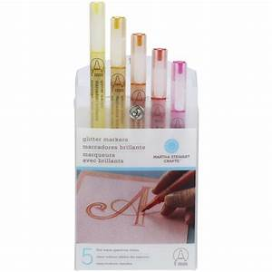 Shop Glitter Markers Warm Spect Set - Overstock