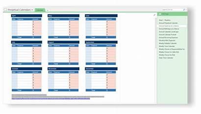 Onenote Calendars Templates