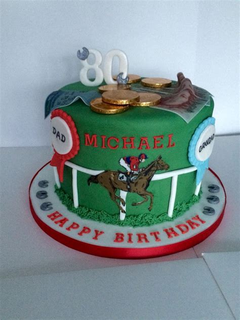 images  horse racing cakes  pinterest