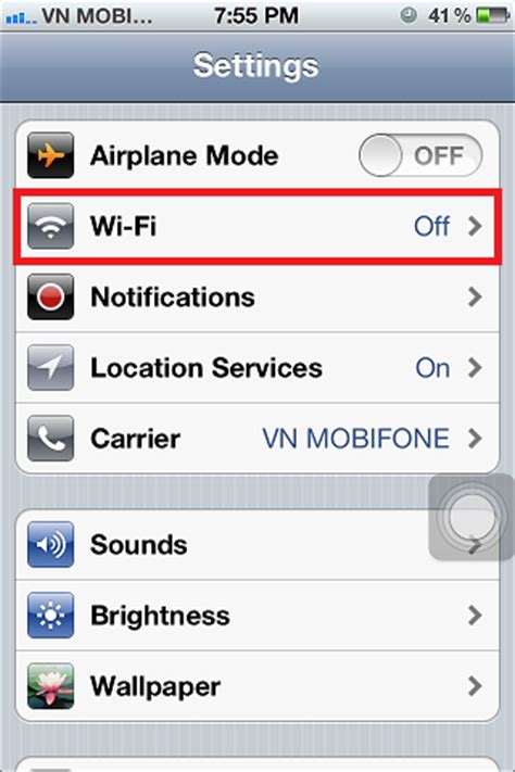 how to wifi from iphone turn on wifi on iphone 4s 4 rapid development