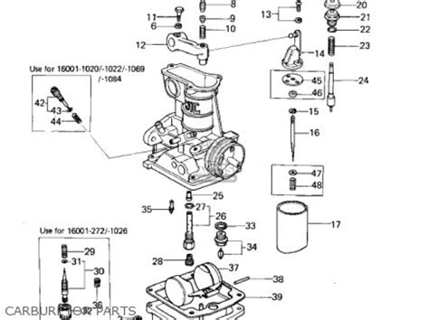 kawasaki  kz  parts list partsmanual partsfiche