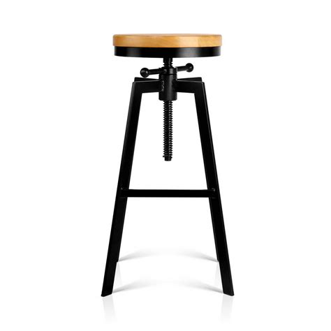 Stool Height by Adjustable Height Industrial Stool