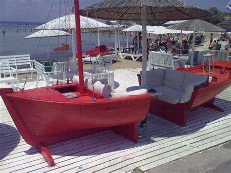 amazing ways  upcycle  boats boat furniture
