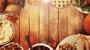 Thanksgiving Table Background - Church Media Resource