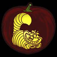 Evil Cheshire Cat Pumpkin Stencil by Cheshire Cat Co Stoneykins Pumpkin Carving Patterns And
