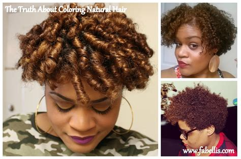 The Truth About Coloring Natural Hair