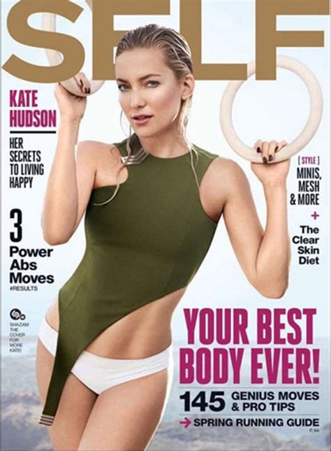 pics kate hudsons  mag cover   sexy abs