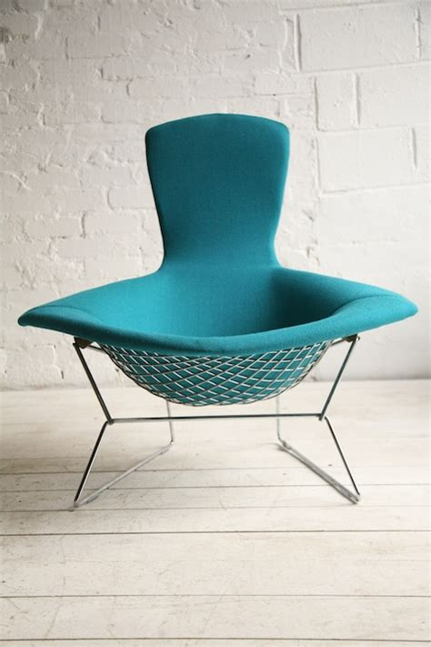bird chair by harry bertoia for knoll and chrome