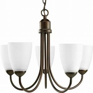 Progress lighting gather collection antique bronze light