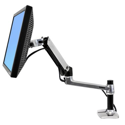 computer monitor arms desk mount monitor arm 45 241 026 ergotron lx desk mount