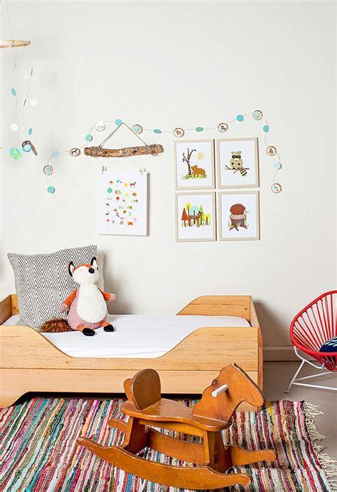 chambre a theme deco chambre enfant theme foret picslovin