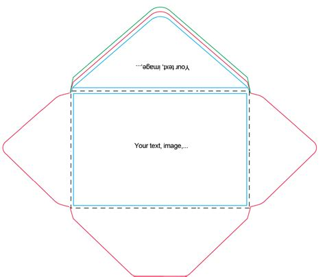 Envelope Template 7 Best Images Of A9 Envelope Templates For Printing Free