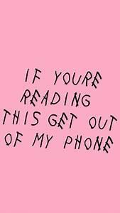 Lockscreen Drake Wallpaper Pink Drizzy Hotline Bling Image ...
