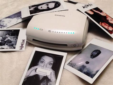 smartphone polaroid printer the coolest invention the fujifilm instax